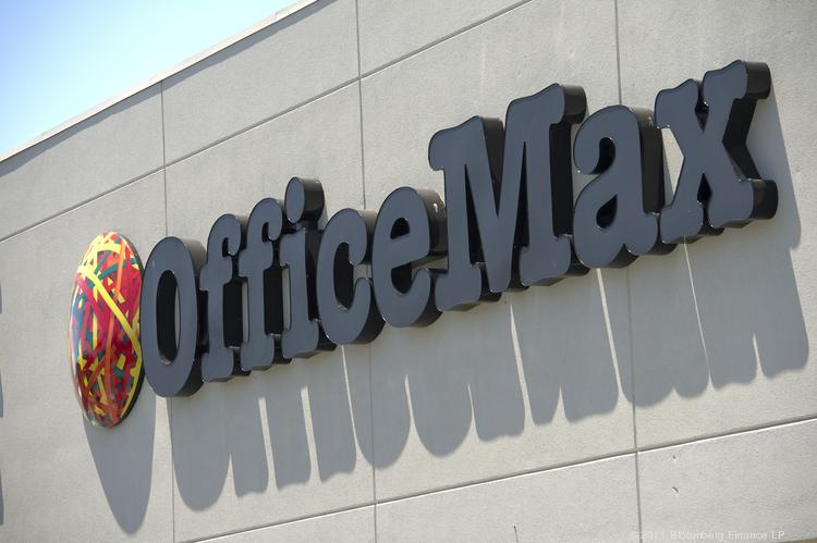 OfficeMax confirmed its plans to combine with Office Depot in an all-stock merger.