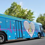 Lynx unveils new bus wrap commemorating Orlando shooting victims