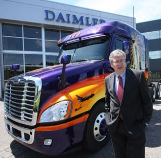 Daimler Trucks North America CEO Martin Daum has repeatedly expressed the company's commitment to Portland.