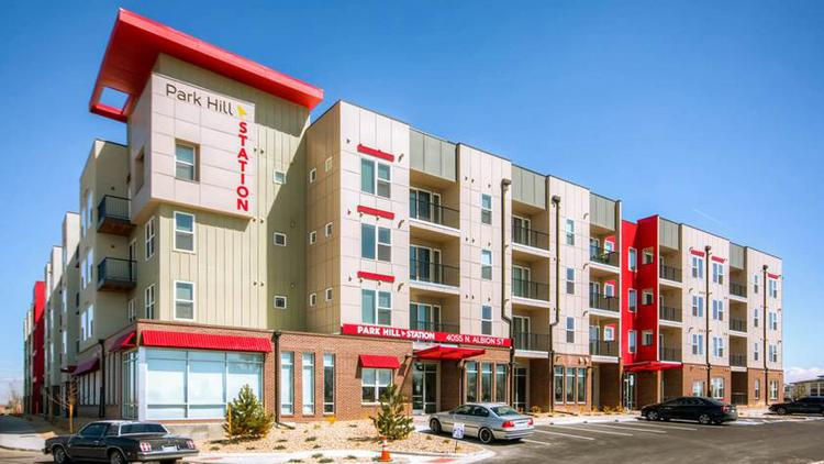 Park Hill Station is a 156-unit affordable housing project at 40th Avenue and Colorado Boulevard.