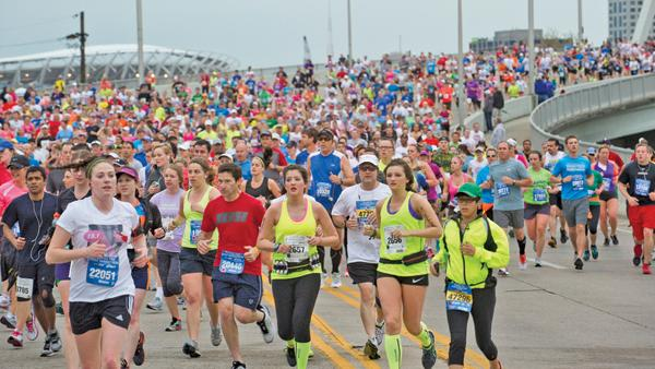 About 50 runners in Sunday's half-marathon took a wrong turn and ended up running an extra half-mile or so