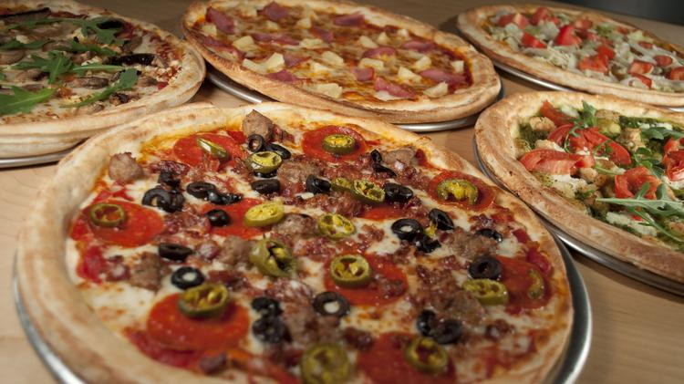 Rapid Fired Pizza offers build-your-own pizzas using 35 toppings, eight sauces and eight cheeses that are baked in about three minutes in a specialized oven.