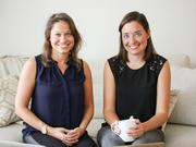 Katie Ghelli, left, and Mary Biggins are cofounders of MealPass, a lunch subscription service that is in New York, Boston, and Miami. It just announced that it is expanding a larger swath of Manhattan.