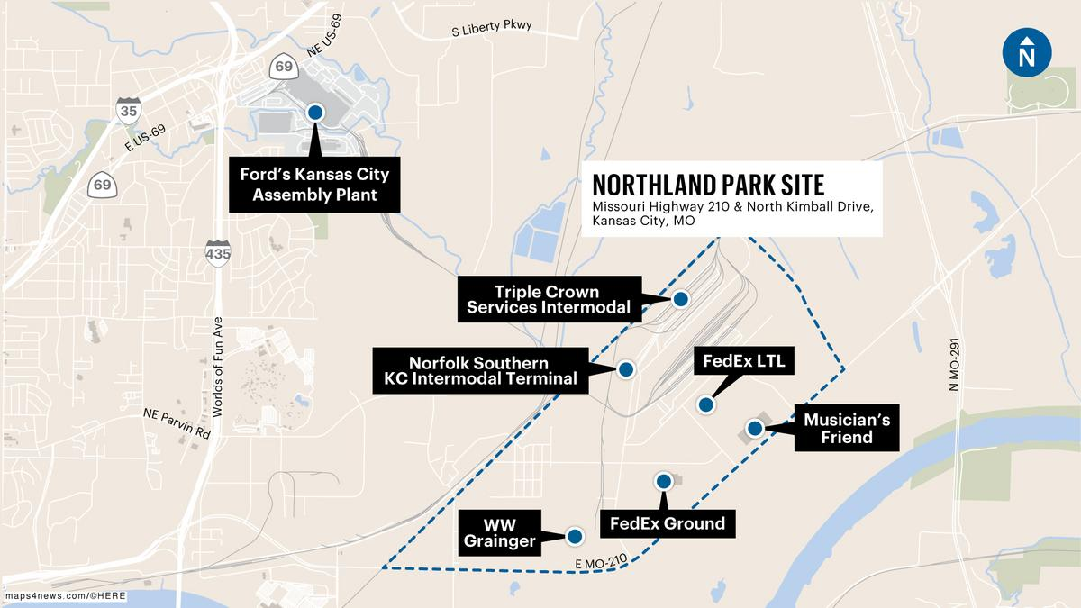 Northpoint plans 250m development near kc intermodal hub for Ford motor company kansas city mo