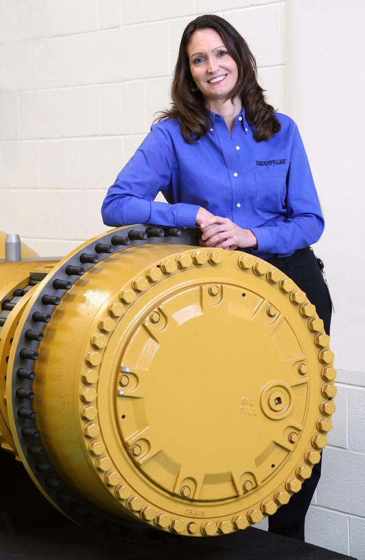 Heather Robinson, operations manager Caterpillar, Inc. in Winston Salem.