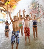 The water park at Country Springs Hotel in Waukesha