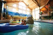 The lazy river in the water park at Country Springs Hotel in Waukesha