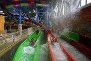 Kalahari Resorts slide opening Dec. 20, 2011, in Wisconsin Dells