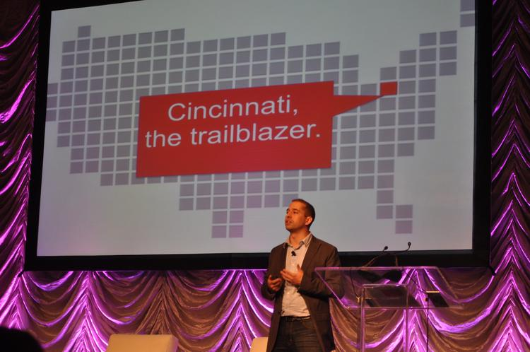 Rockfish CMO and Brandery co-founder Dave Knox touted Cincinnati's leadership at the Digital Dialogue Conference.