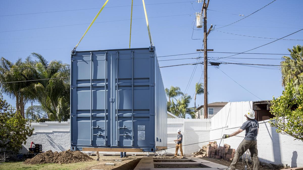 The solution to portland 39 s housing crisis shipping containers photos portland business journal - Container homes portland oregon ...