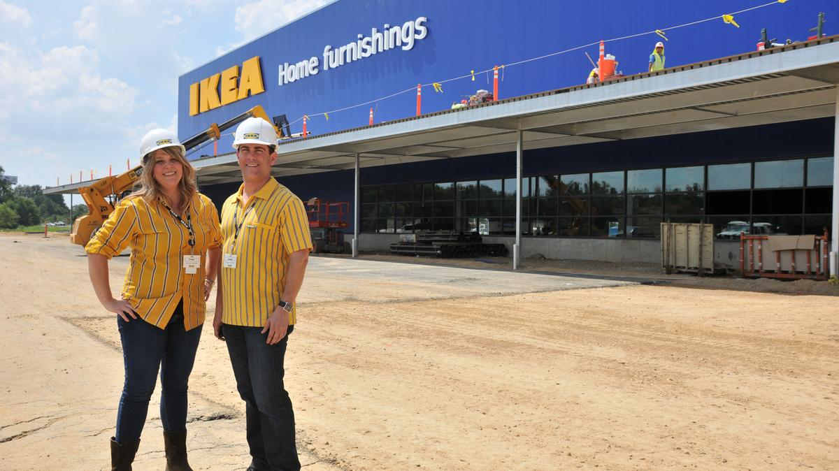 ikea memphis will open its new store near interstate 40 and germantown parkway wednesday dec. Black Bedroom Furniture Sets. Home Design Ideas