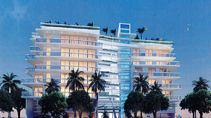 The 26-unit Sophie by Allure condo is proposed at 1045 92nd Street in Bay Harbor Islands.