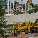 Lakefront Gateway contractors at full bore before Summerfest: Slideshow