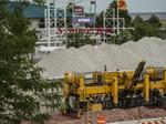 Lakefront Gateway contractors at full bore before Summerfest