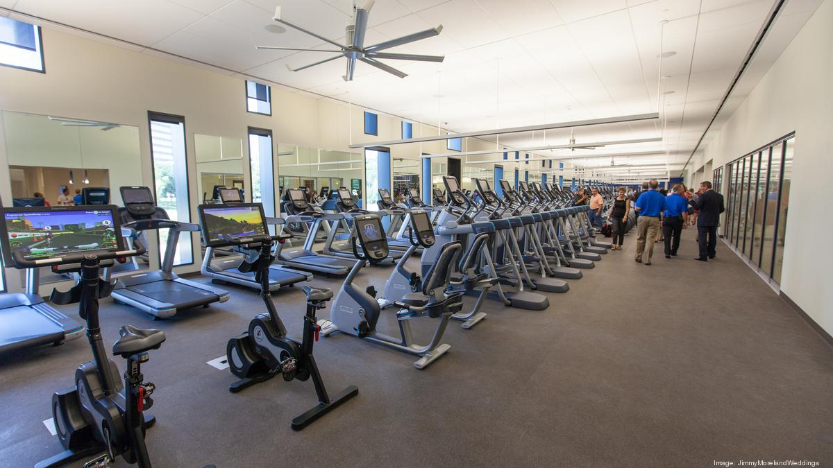 Cost of building fitness centers inside houston office for Cost of building a gym