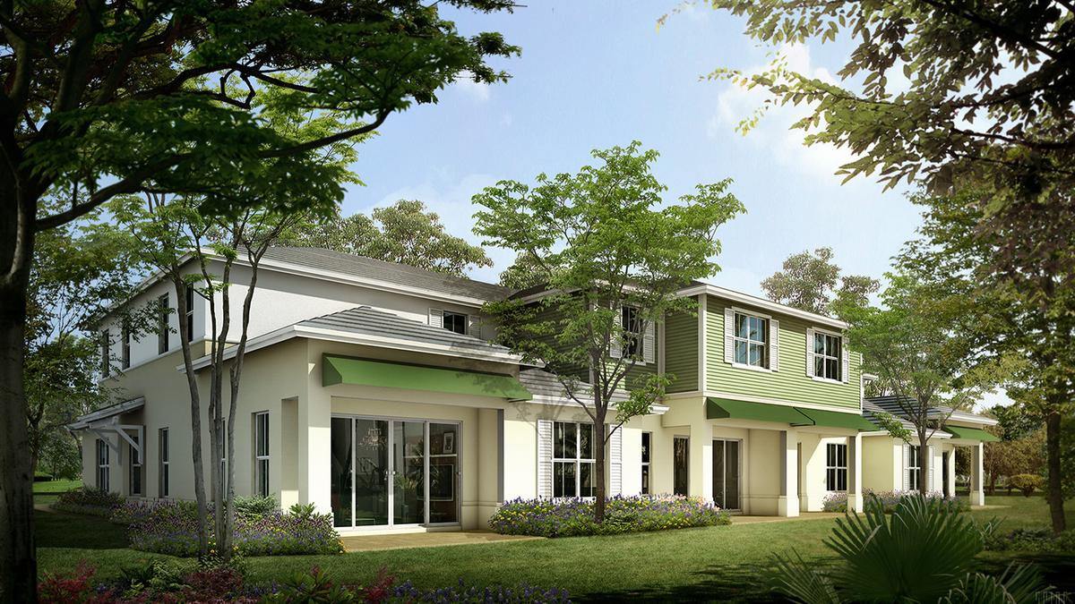 Ascend Properties plans Pointe Midtown townhouses and retail in Palm ...