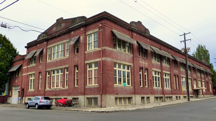 Sale of historic central eastside building will displace for Building a house in portland oregon