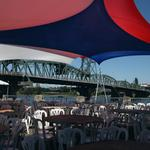 Portland's Waterfront gets ready for the Blues Festival (Photos)
