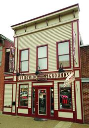 The owners of Hallowed Grounds received funding for facade improvements.