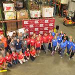 Local banks collect 400,000 pounds of food for Second Harvest Food Bank