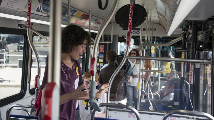 New transportation projects, like the A Line bus route pictured here on opening day, may not be enough to connect Twin Cities' unemployed with jobs that match their skills.