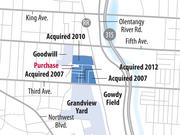 This latest purchase adds to several parcels NRI has compiled north of Grandview Yard in recent years.