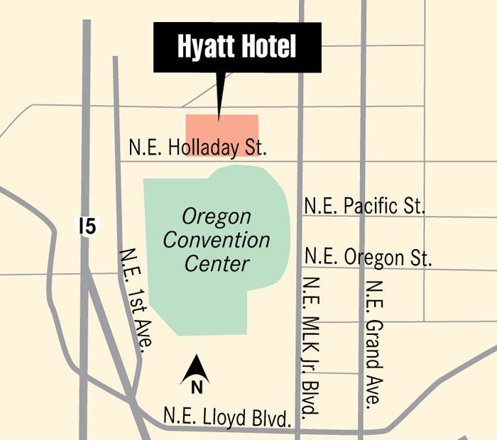 Multnomah County Commission signed off on a tax-sharing agreement that helps  move the Hyatt headquarters hotel project forward.