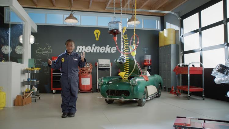 Charlotte-based Meineke has launched a new branding campaign, focusing on customer service and education on car care.