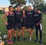 How I went from a professional soccer player to running my own soccer-inspired boutique exercise company
