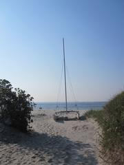 A Hobie Cat in Ocean City, N.J.