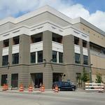 Approved paints take Peabody Place from 'gingerbread' to Class A office