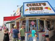 One of two Curly's Fries locations on the Boardwalk in Ocean City.