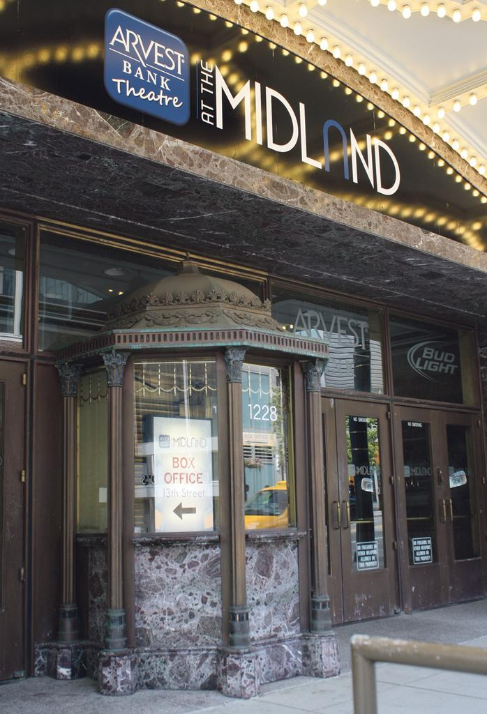 Arvest Bank has added its name to Kansas City's historic Midland Theatre.