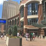 Church group packs downtown with 17,000 members this weekend
