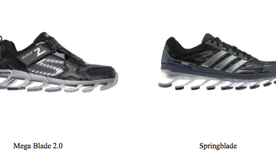 2ebbd10c90b0 Adidas has sued Skechers for patent infringement. It claims the Skechers  Mega Blade 2.0 and