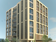 Portland's Carbon 12 building has landed funds to help test CLT.