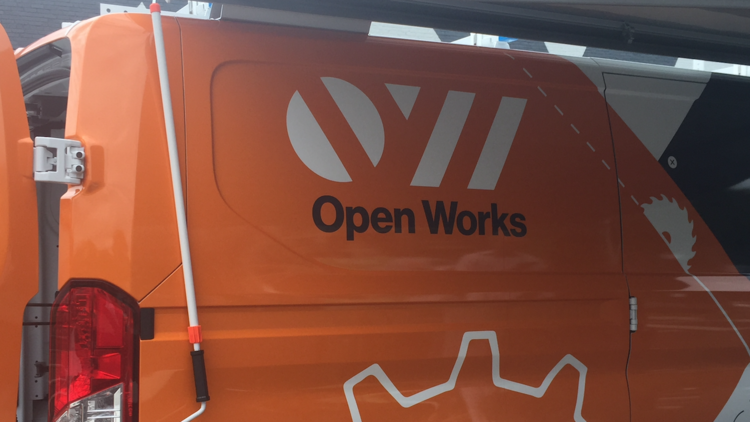 A look at the Open Works mobile unit, which will debut at Artscape this weekend.