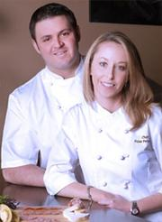 James and Julie Petrakis, chefs and co-owners of The Ravenous Pig in Winter Park, are both James Beard Award semifinalists for best chef in the South.