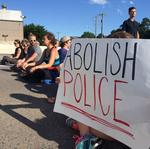 I-35W bridge reopens after Black Lives Matter protesters block it during <strong>rush</strong> hour