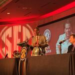 What's it like working with <strong>Nick</strong> <strong>Saban</strong>? Eli Gold explains