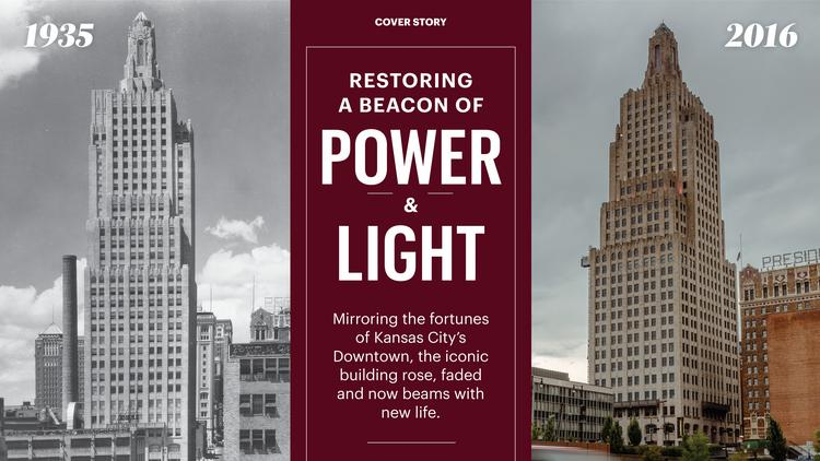 The Power U0026amp; Light Building, An Icon In The Kansas City Skyline, Is