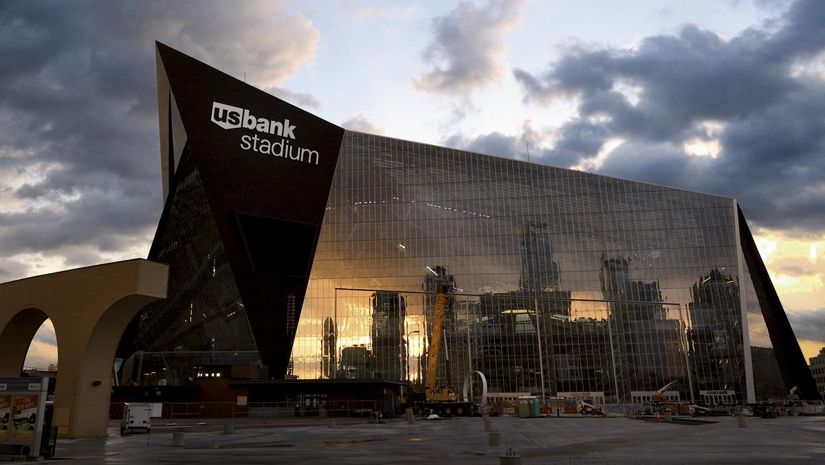 An Inside Look At U S Bank Stadium Photos Minneapolis