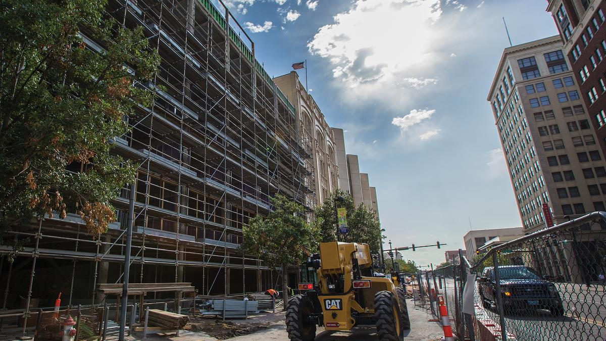 The Douglas Apartments On Track For Fall Opening Wichita