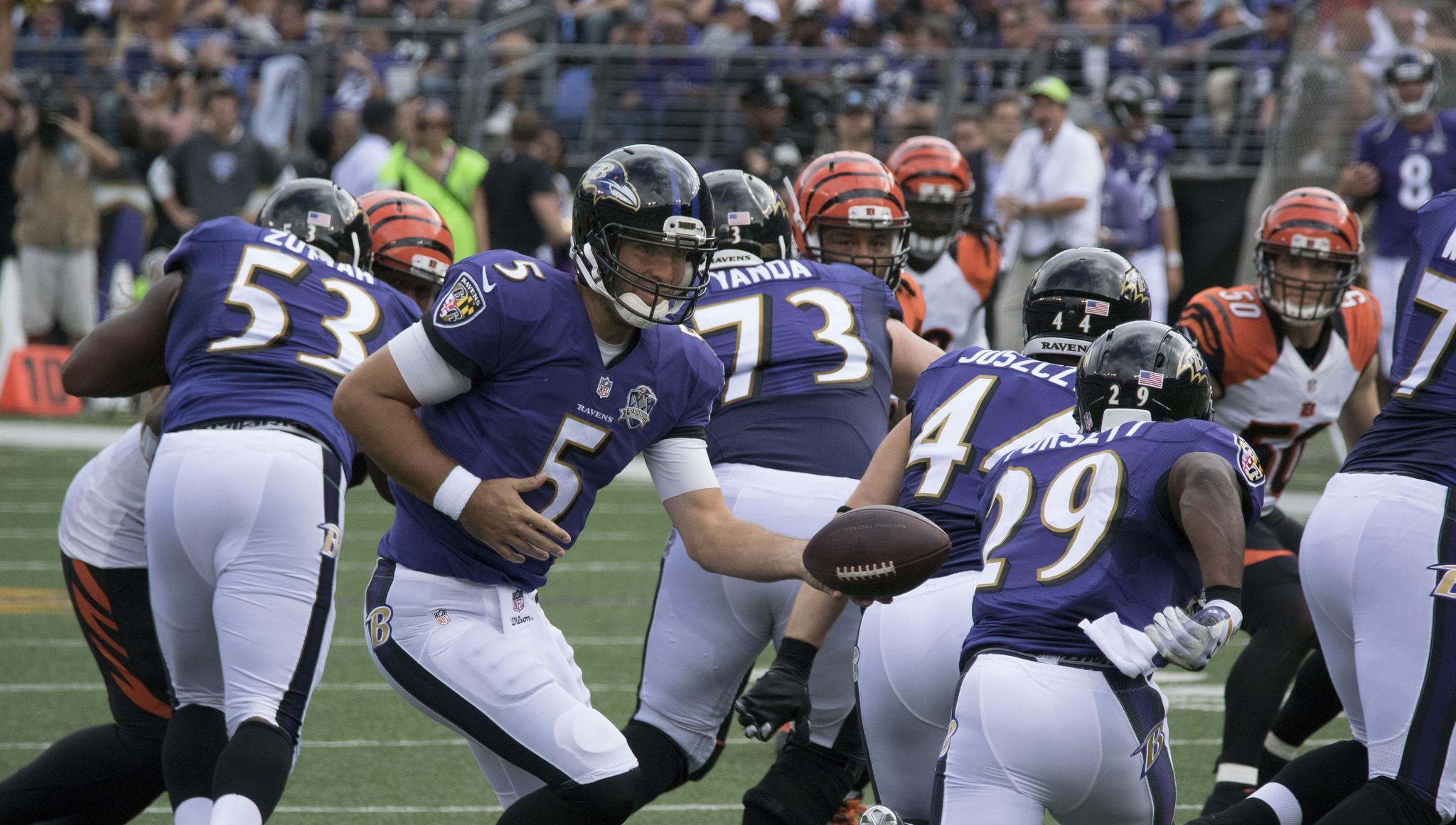Do you think the Ravens' offense will continue to play well?