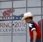 Convention's Cleveland sponsors aim to boost city, not Trump