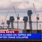 Tappan Zee Bridge shuts down after <strong>crane</strong> collapse