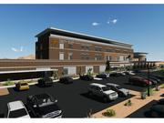 Another rendering of the hospital being built in Mesa.