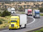 Partially automated 18-wheelers coming with 'truck platooning' test