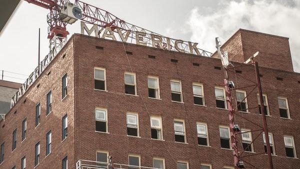 Area Real Estate S Renovation Of Maverick Building Could
