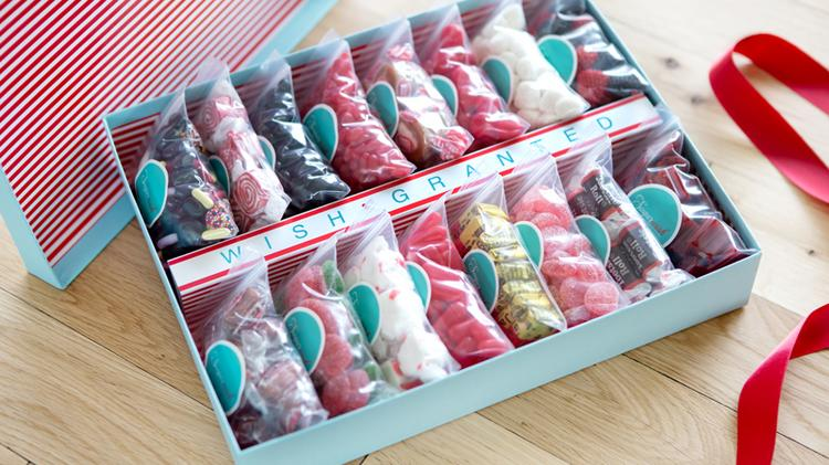 Sugarwish is a Denver-based business that allows receivers of candy boxes to customize their gifts.